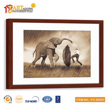 Wall hanging modern decorative elephant oil painting