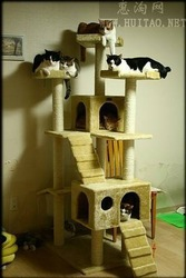 New design hot sale cat tree design cat scratching tree simple cat tree
