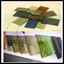 Hot! 3-19mm Bronze Green Brown Grey Offline Coated Reflective Float Glass