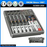 Multifunctional CF-2063 digital usb mini audio mixer with great price