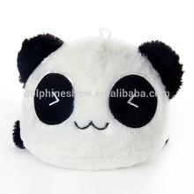 2015 Best selling cute panda plush toy stuffed soft plush panda cushion