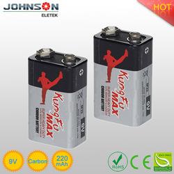 eastpower 6f22 9v zinc carbon dry cell for annunciator Johnson Eletek