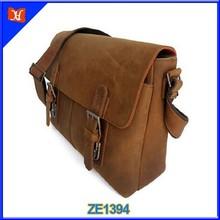 Top Selling Distressed Leather Men Fashion Messenger Bag Boy Bag