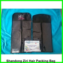 nonwoven packaging bag for hair