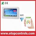 el iphone app inteligente termostato de ambiente de wifi