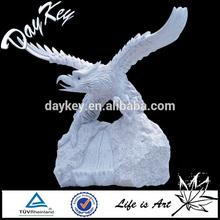 hot sale life size white marble eagle statue