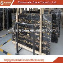 Hot china products wholesale Italian Portoro Gold Marble