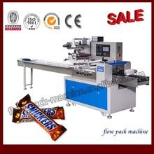 Hot sale horizontal chocolate bar wrapping machine (packing machine)