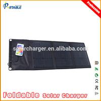 30W folding solar panel PET laminated diy solar panel kits with DC 18 & USB 5V output