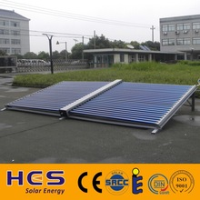 2015 HES directly flow evacuated tube solar collector