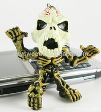 Cheap Custom Metal Keychains Keyring, Skull Keychain