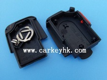 (Ledy) Hot selling 2+1 buttons remote key Fob control shell cover blank case with 1616 battery