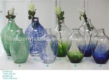 hotsale cheap glass flower vase