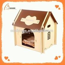 Cheap cute pet wood plastic composite dog house