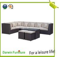 Popular Outdoor Wicker Lounge Rattan Sofa