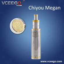 On Stock! new arrival full mechanical mod VCEEGO Chiyou megan mod 1:1 clone