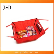 2015 New Coming Large Capacity 420DNylon Supermarket Shopping Cart Bag