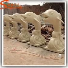 Dolphins Decoration Stone Sculpture Fiberglass Sculpture Animal Sculpture