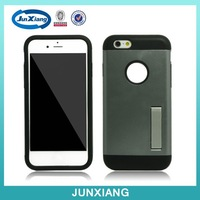 Alibaba china pc tpu armor case for iphone 6 with kickstand