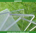 tragaluz sombrilla de jardín de plástico del techo de policarbonato