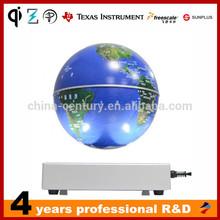 2015 New Innovation Maglev Suspension Plastic Table World Globe Maglev Rotating Globe