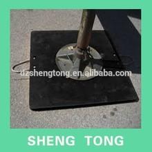 uhmwpe crane outrigger mats, crane outrigger leg support