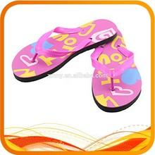 custom beach wedding flip flops