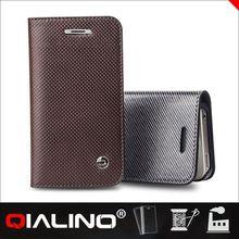 QIALINO Custom Original Design For Iphone 4S Leather Case