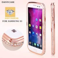 new fashion case for samsung galaxy, high quality diamond bumper case for samsung galaxy s2