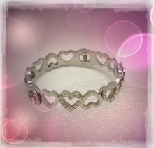Fashion stainless steel bangle bracelet best selling valentines gifts