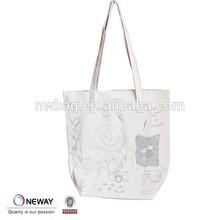 2015 Custom High Quality Reusable Cotton Bag/Cheap Logo Shopping Tote Bags/Plain Tote Bag Cotton With Logo Printing