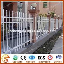 Garden fencing PVC plastic vinyl picket fence