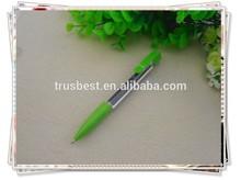 TB-0203 cheap AD banner pen , calendar pen , promotional ball pen