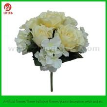 "13"" Wedding Centerpiece Artificial Flower,Wedding Flower Stand Centerpiece,Artificial Flower Bunch"