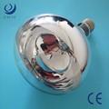 500w e40 lampada di calore a raggiinfrarossi peril riscaldamento