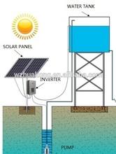 acqua pompa solare per agricole ad alta potenza sommergibile