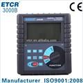 Iso CE ETCR 3000B kháng đất đất thử nghiệm kháng đồng hồ mặt