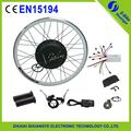 Venda quente roda traseira da bicicleta elétrica kit 48 V500W motor kit de conversão bicicleta com bateria de lítio