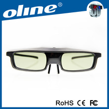 Factory Price! Cheap Active Shutter 3D Glasses for movies dvds