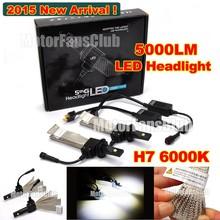 2015 New 40W 5000LM H7 LED Headlight Kit Car Driving Lamp Bulbs 6000K White