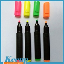 Hot new product simple multi color black highlighter pen