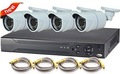 produtos quentes para nova 2015 câmera de vídeo do sistema de vigilância completa 4ch 720p ivc kit câmera ao ar livre p2p 3g câmerasdigitais