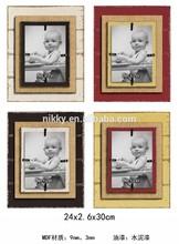 Colorful interior design framed pictures & popular mdf picture frame