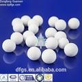 Platina Alumina catalisador cadinho de cerâmica bola de futebol fábrica de alta Alumina bola cerâmica