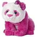 Bonito bonito soft urso panda de pelúcia brinquedo de pelúcia panda-de-rosa