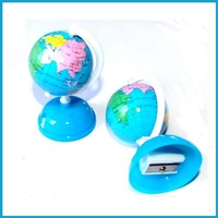 Plastic Globe Shaped Pencil Sharpener