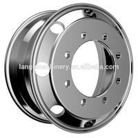 alcoa 8 holes forged aluminum truck wheels 19.5 inch polishing rims