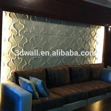 3d design embossed aluminum decorative wall panel