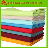 preshrink finish 100%cotton plain fabric white and any color