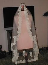 2015Wholesale new style women wedding veil